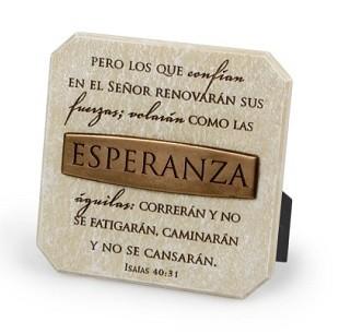Esperanza placa