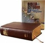 Biblia de estudio Mundo Hispano-Piel rojizo