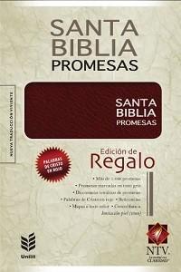 Biblia Promesas NTV - Edición de regalo; Imitación piel