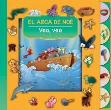 El arca de Noé, veo, veo, (Bilingue) Cartón troquelado
