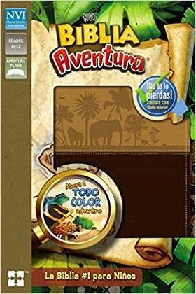 Biblia aventura piel chocolate