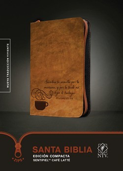 Biblia NTV compacta cafe