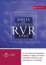 Biblia de estudio vida