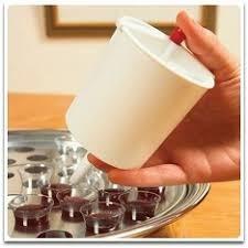 Dosificador a presión para llenar vasos Santa Cena
