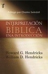 Interpretacíon Bíblica: una interpretación