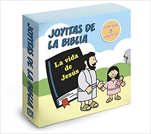 Joyitas de la Biblia: La vida de Jesús - Pack con 8 libritos