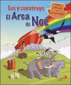 Lee y construye el Arca de Noé, con piezas y personajes