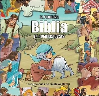 La pequeña Biblia en rompecabezas (para niños hasta 3 años)